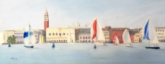 Sunday Regatta, Venice