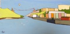 Balloon and Clifton Suspension Bridge