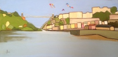 Clifton Suspension Bridge and the Kite Festival